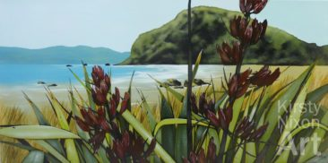 """Pencarrow Heads""<br> Art by the Sea $2,200"