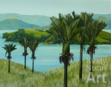 """View from the hill Coromandel"""