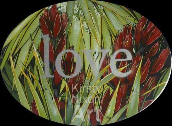 Love painting by Kirsty Nixon