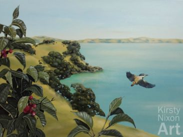 """Free As A Bird""<br> 1200mm x 900mm<br> Little River Gallery<br> $4,700"