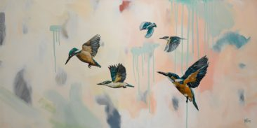 """The Sky's The Limit""<br> 1200mm x 600mm<br> Little River Gallery<br> $3,950"