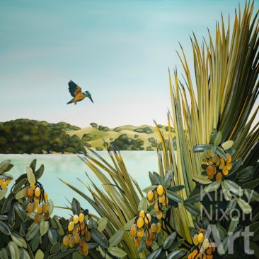 """""""Early Bird""""<br> Limited edition giclee print (50)<br> 620 x 620<br> $500"""